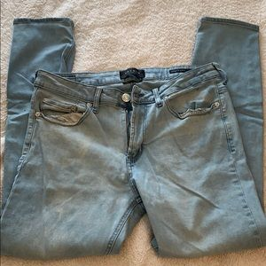 Men's Active Stretch Light Wash Skinny Jeans